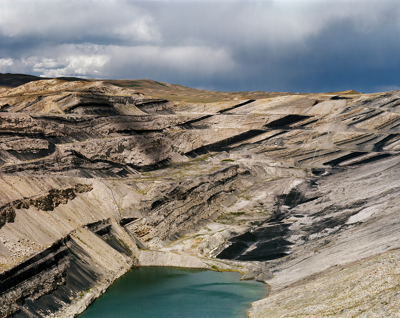 Open Pit Coal Mine, Kemmerer, Wyoming, 2013
