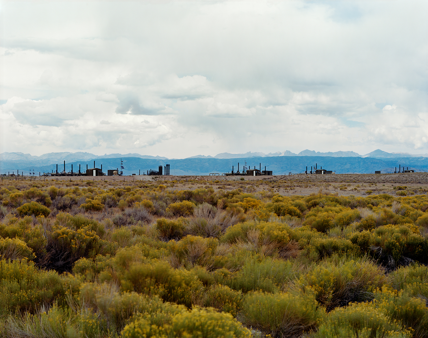 The Mesa, Natural Gas Wells near the Wind River Range, Wyoming, 2013