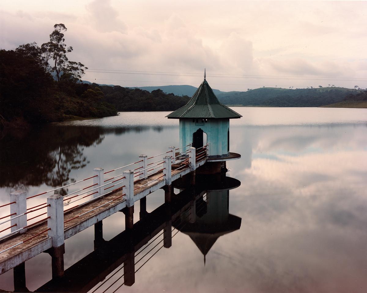 Reservoir and British-built gatehouse, near Nuwara Eliya, Sri Lanka, 1993