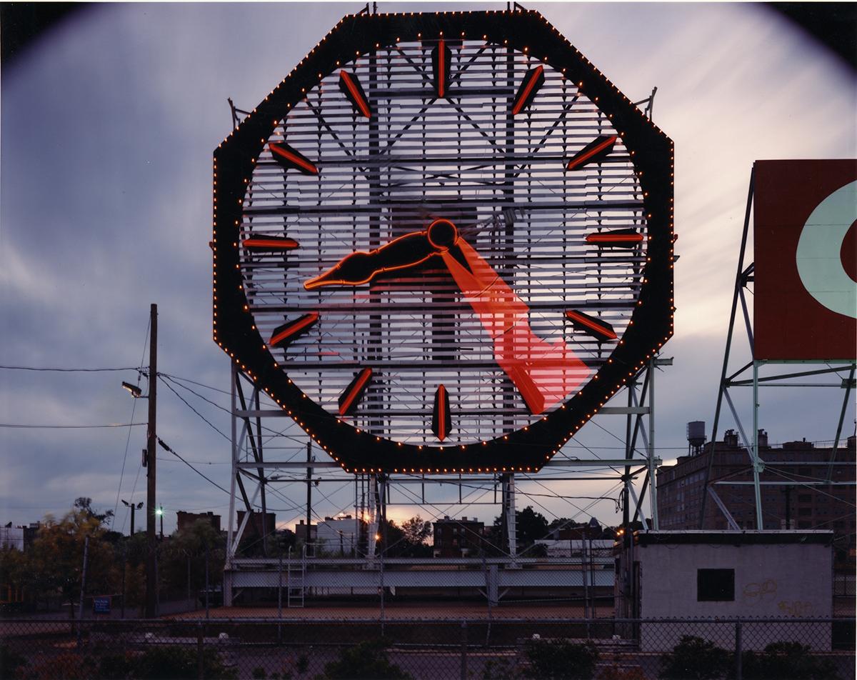 Colgate Clock, Jersey City, New Jersey, 1997
