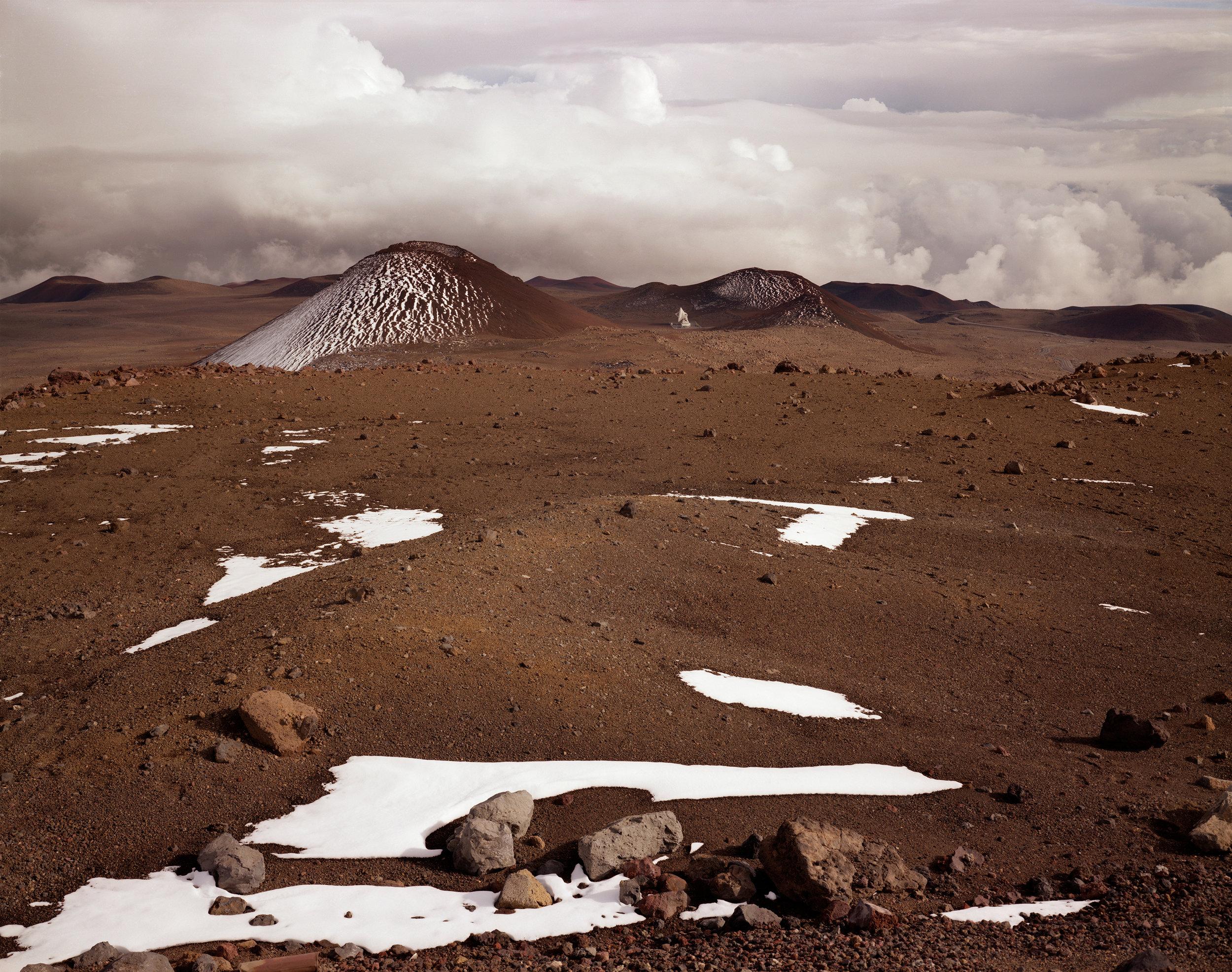 Satellite dish near the summit of Mauna Kea, Hamakua, Hawai'i, 1996