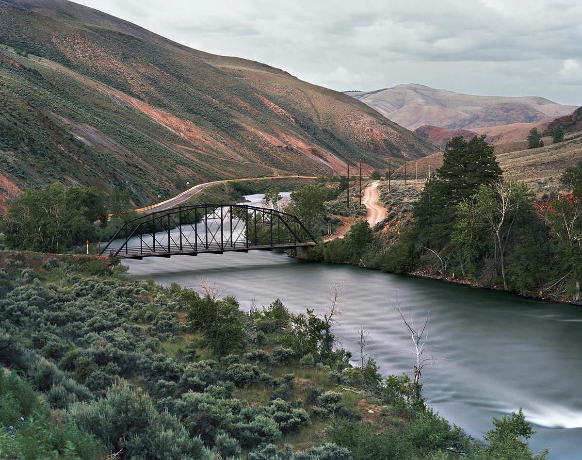 Trestle Bridge over the Salmon River, Clayton, Idaho, 2011
