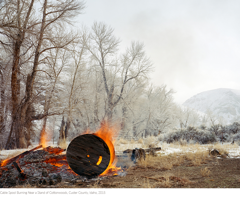 Cable+Spool+Burning+Near+a+Stand+of+Cottonwoods,+Custer+County,+Idaho,+2015titledsamesize.jpg