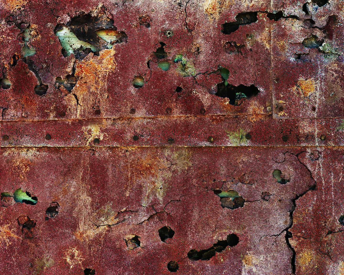Asbestos Siding on a House Constructed from Disused Railroad Ties, Beowawe, Nevada, 2014 (composite).jpg