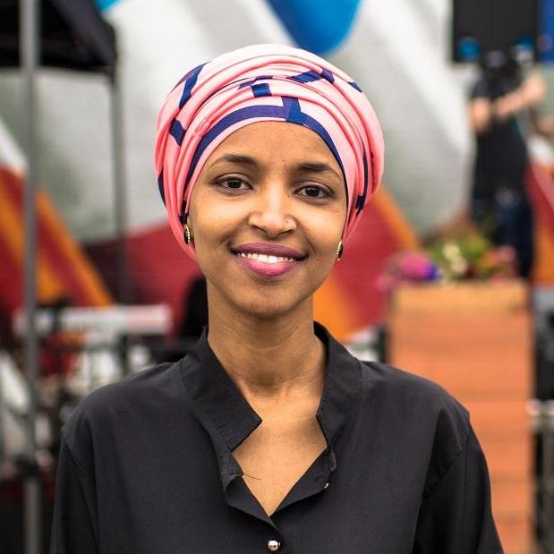 Representative Ilhan Omar, Minneapolis