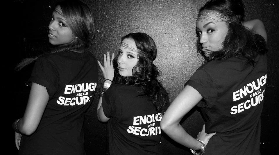 JacQie, Alex & Steph back in 2012, right before the crew expanded.