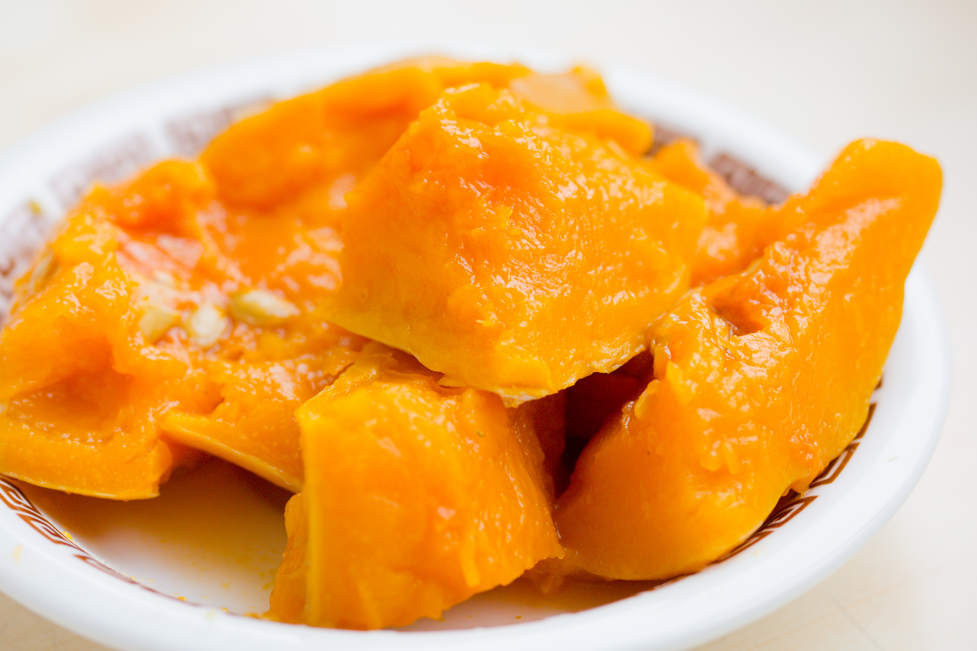 Steamed Pumpkin
