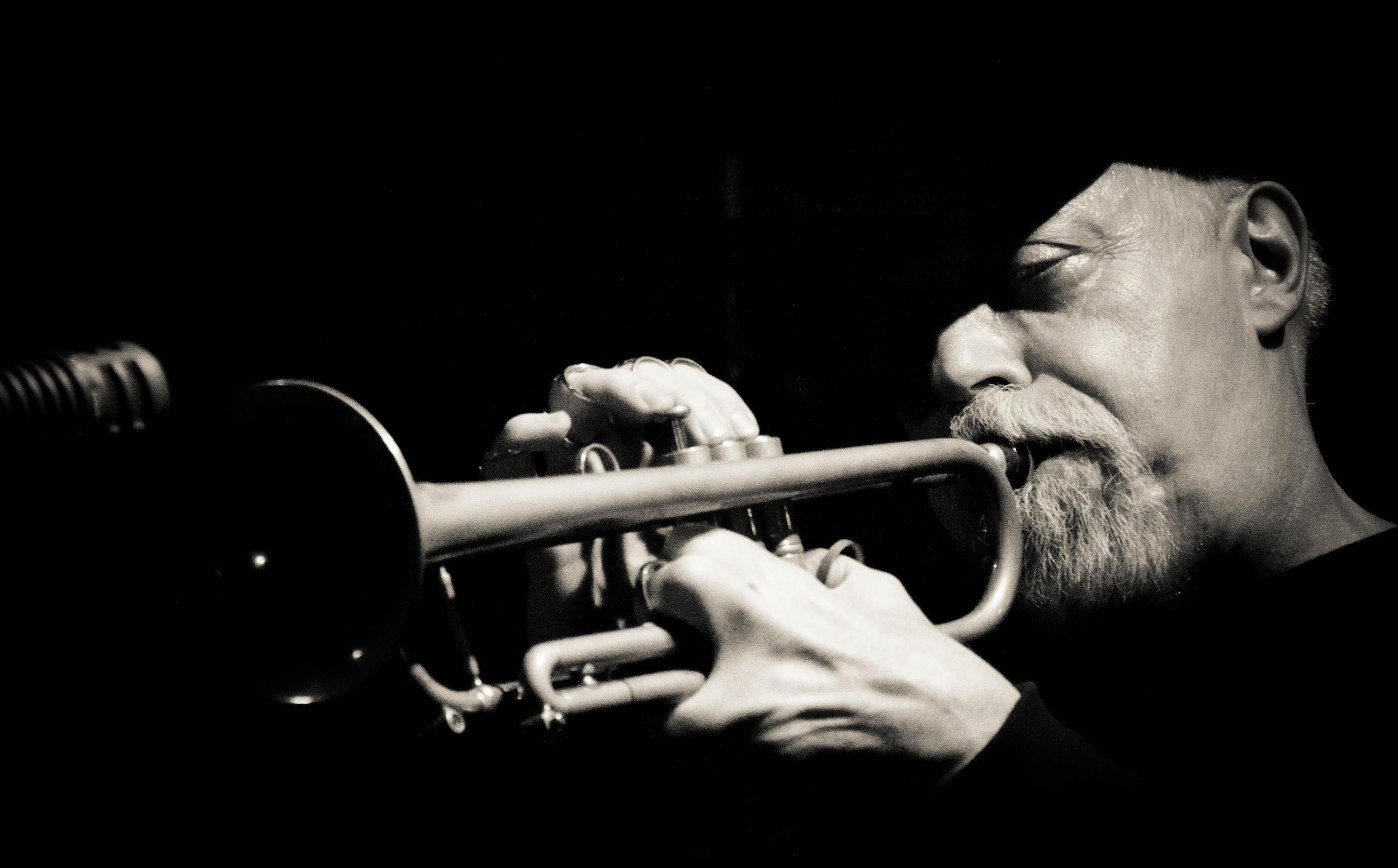 John McNeil at Tea Lounge from Unchromed: Jazz NYC - 2011, © Jin Zhao