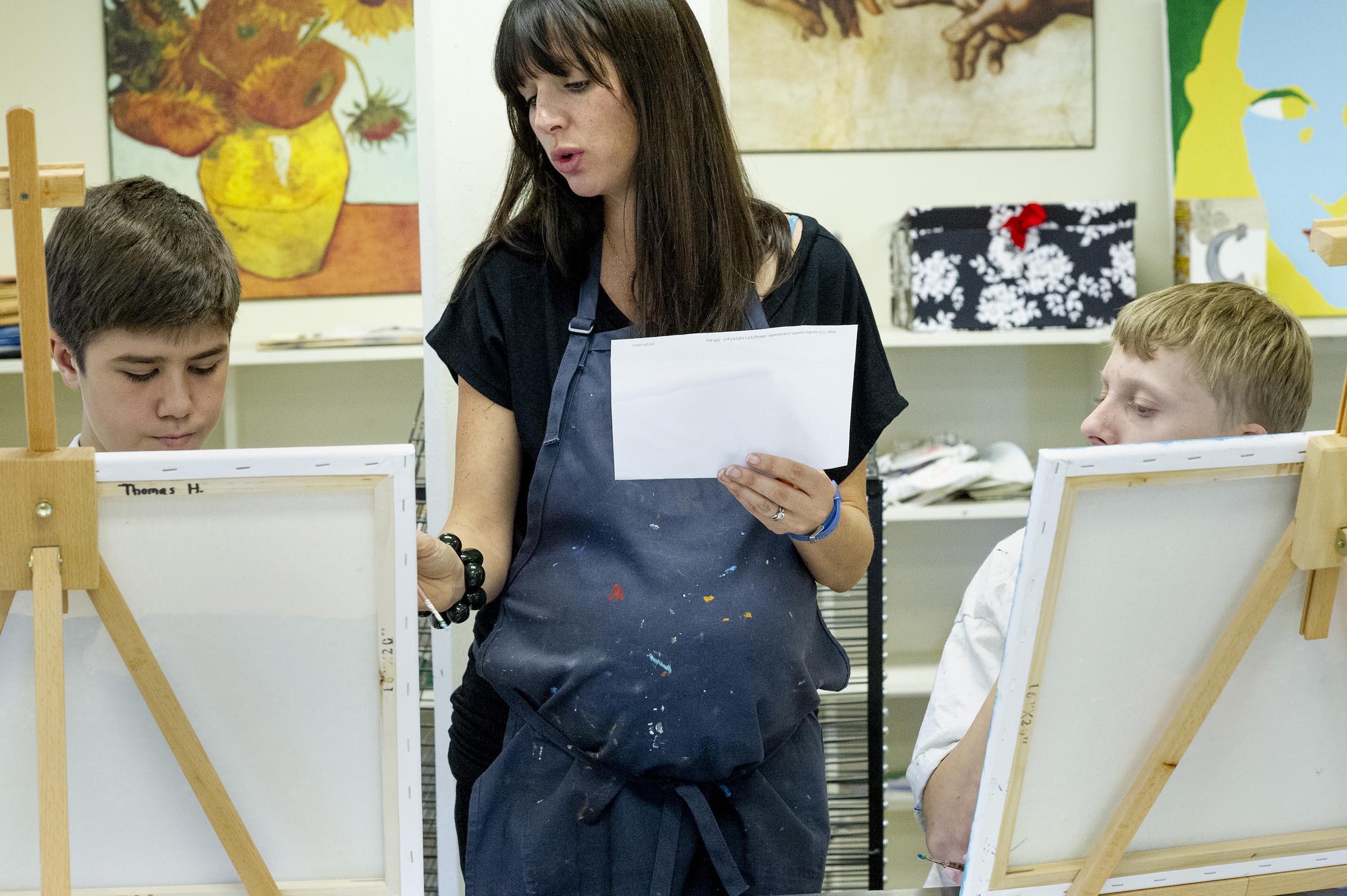 Whitney Stansell, Art Teacher—Atlanta, GA - 2012, © Nancy Floyd