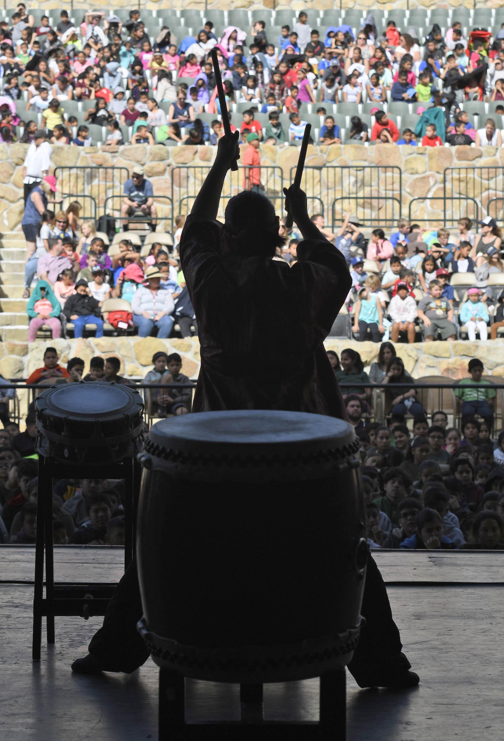 Taiko Drummers - 2018, © Paul Wellman