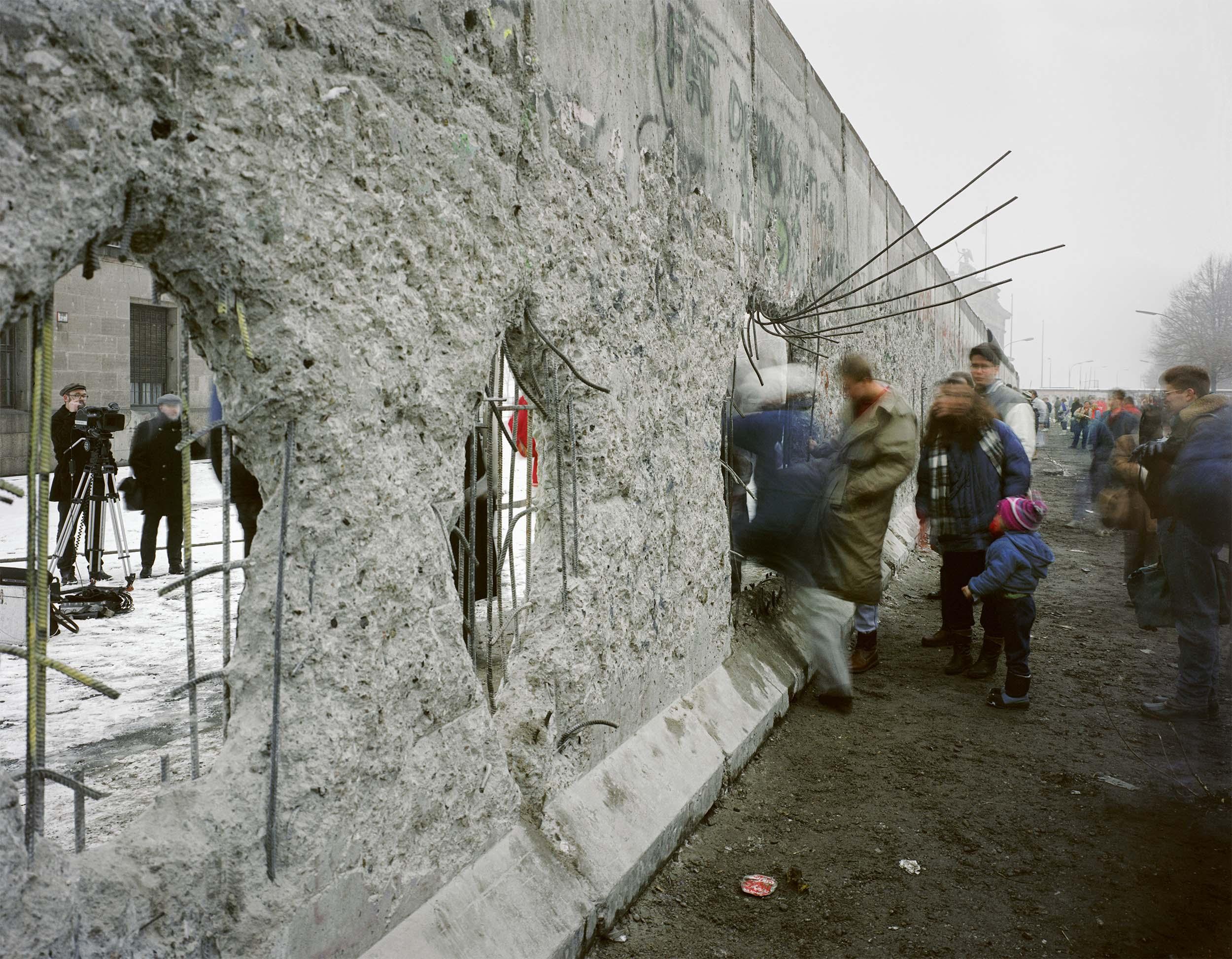 Berlin Wall - 1989, © Brian Rose
