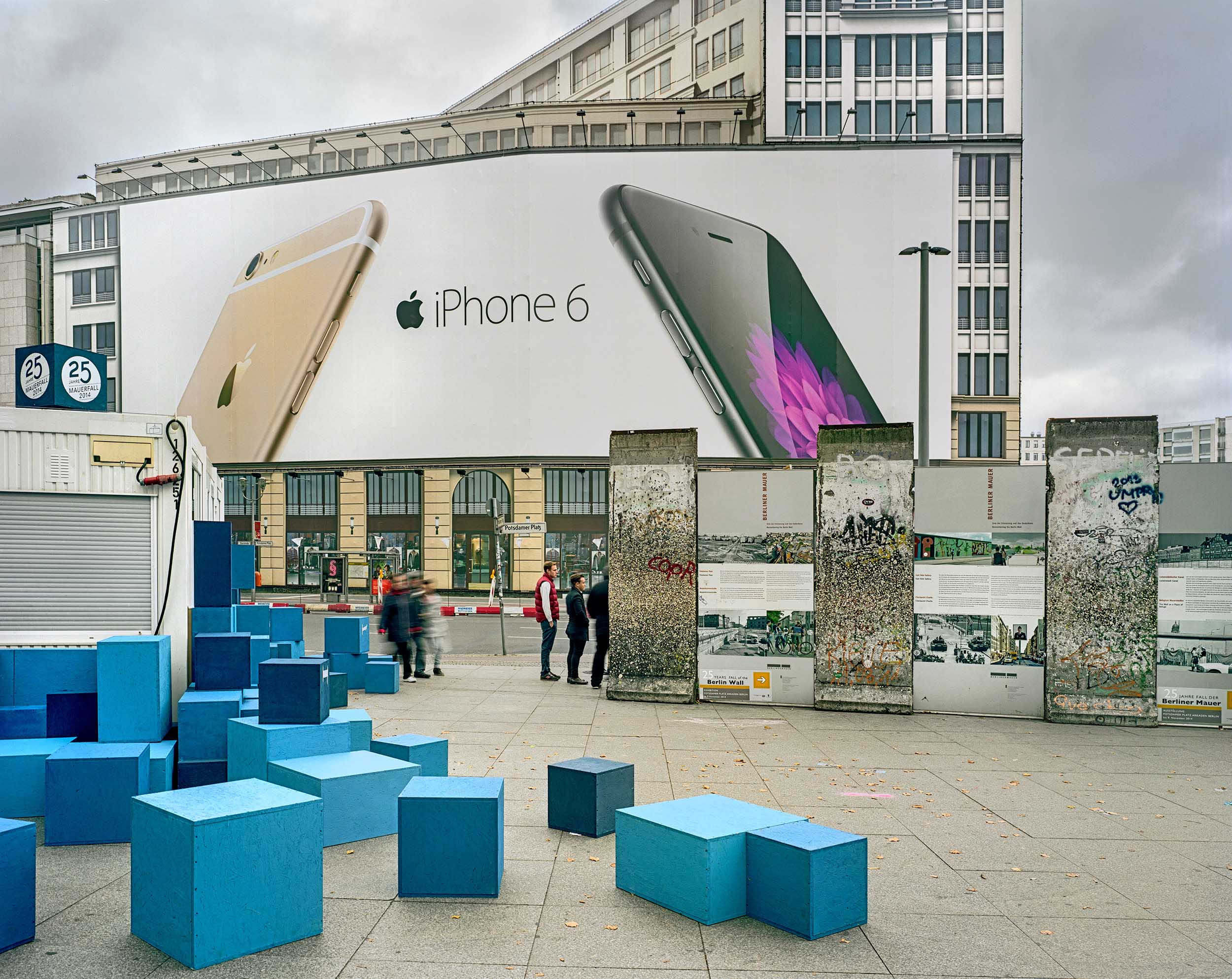 Berlin Wall Remant - 2014, © Brian Rose