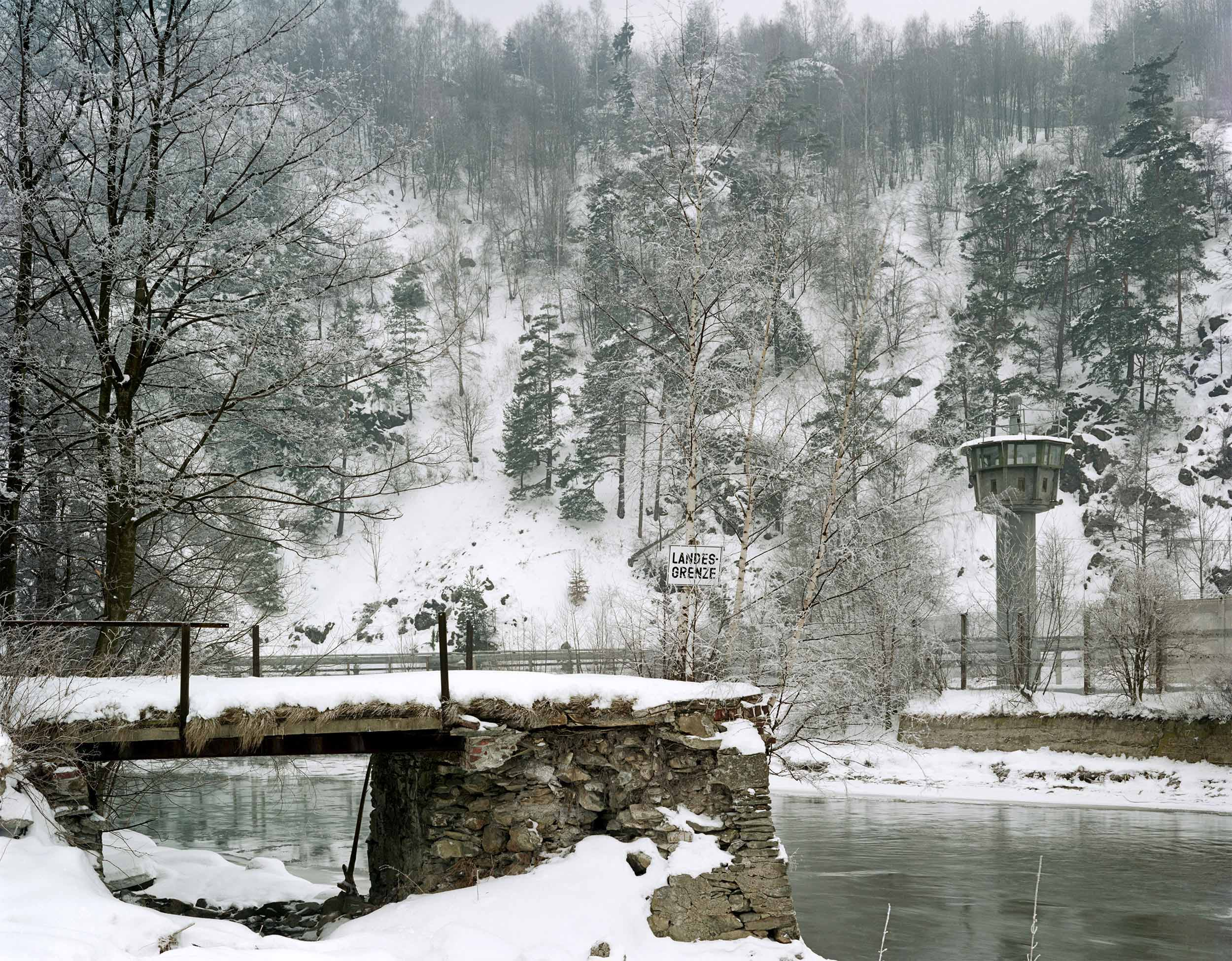 Iron Curtain Border - 1987, © Brian Rose