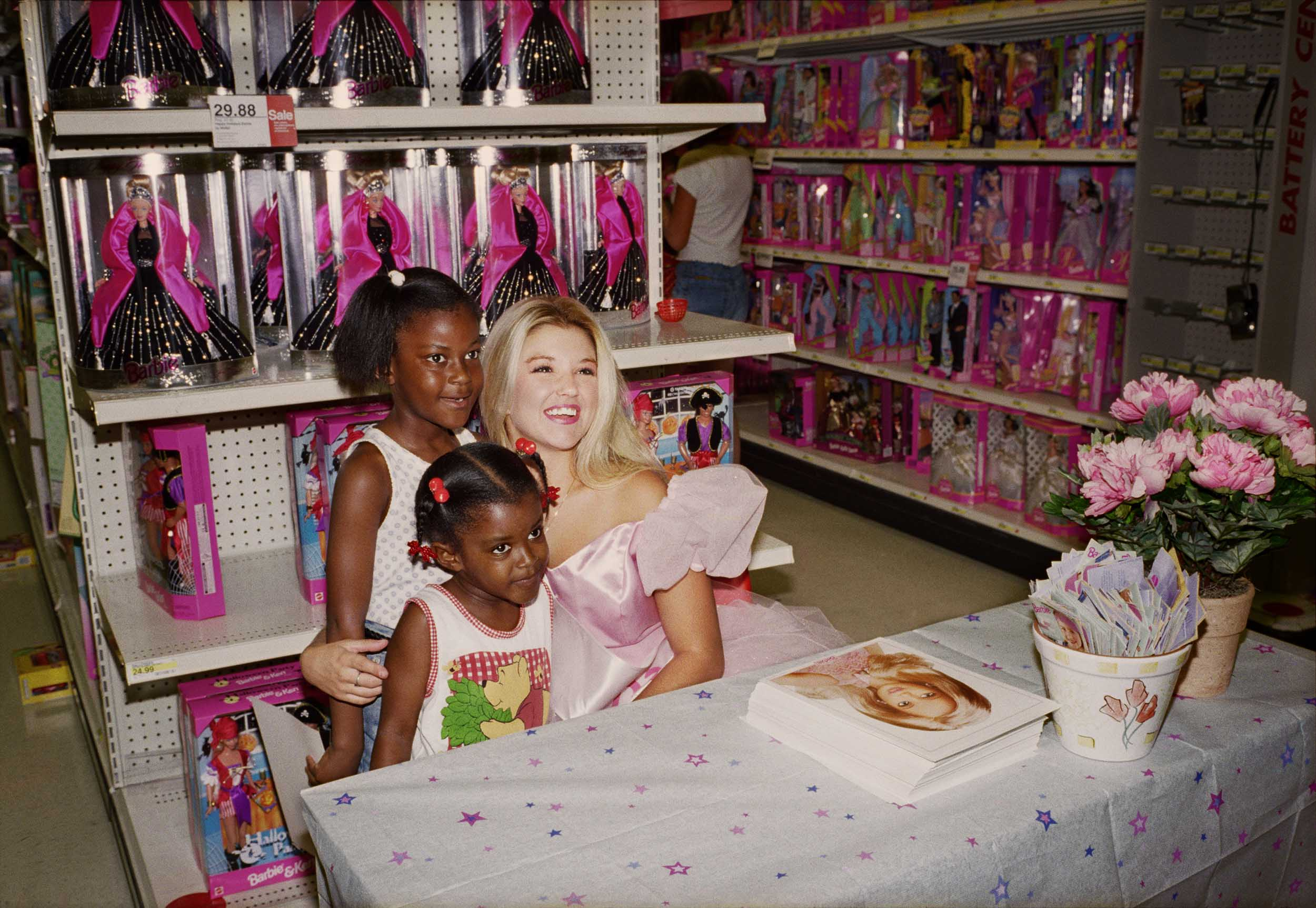 The Real, Live Barbie at Target - 1998, © Melissa Ann Pinney