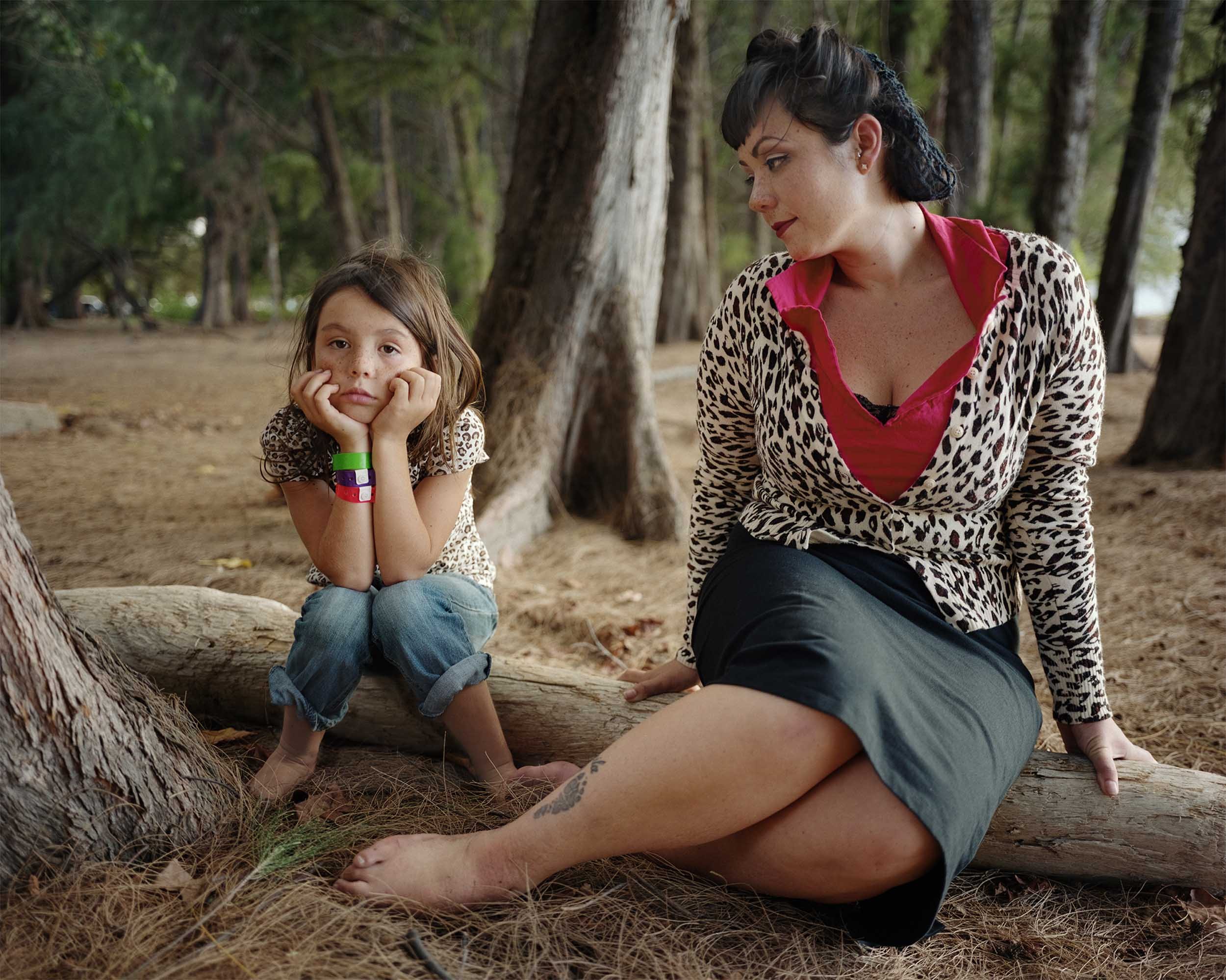 Mother and Daughter—Maui - 2011, © Melissa Ann Pinney