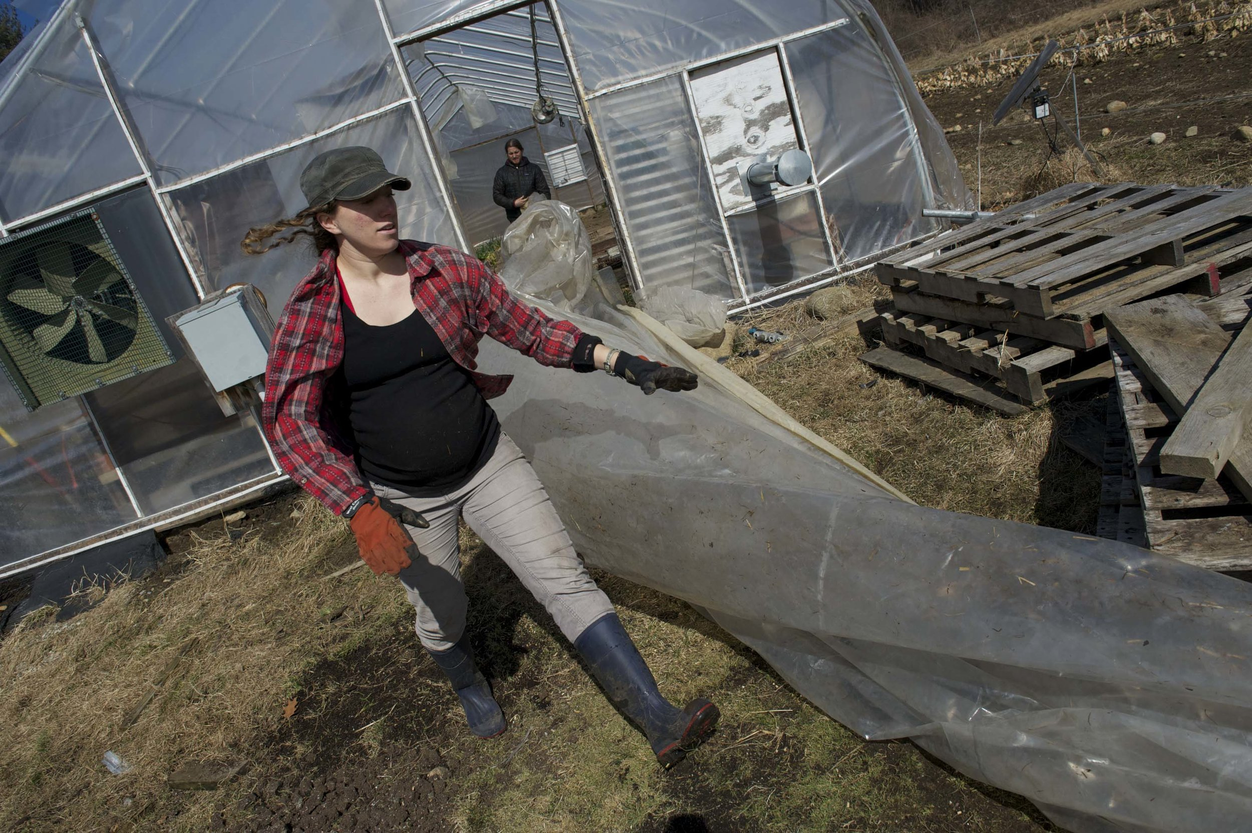 Kimberly, farmer - Josh Marianelli, 2012, © Josh Marianelli