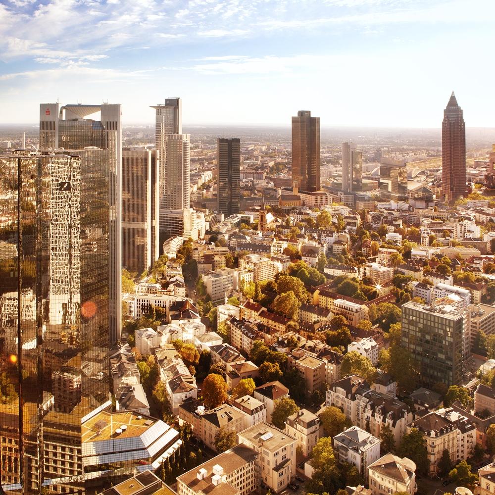 Im Herzen der Region - Mittendrin und überall nah: Das Schönhof-Viertel siedelt im Frankfurter Westen und inmitten der internationalen wie wirtschaftsstarken Metropolregion …