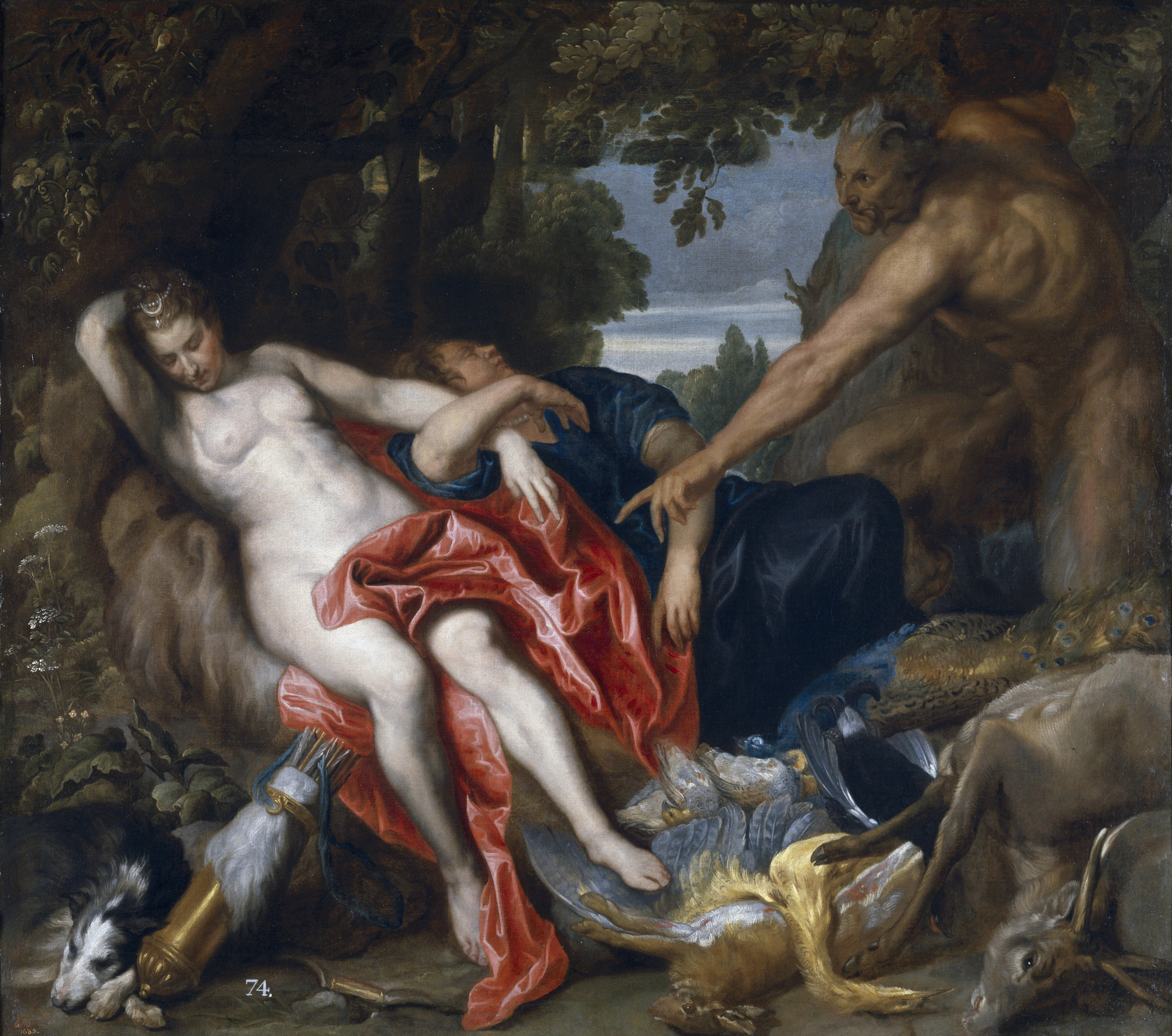 ANTHONY VAN DYCK<strong>Diana and a Nymph Discovered by a Satyr</strong>