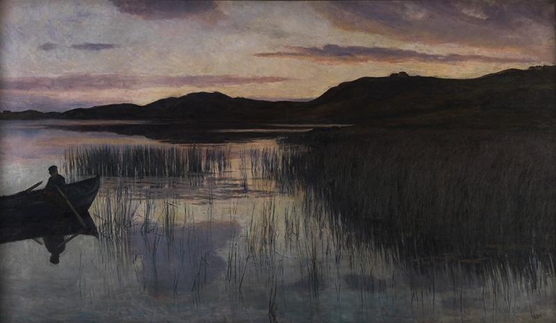 KITTY KIELLAND<strong>Evening Landscape at Stokkavannet</strong>