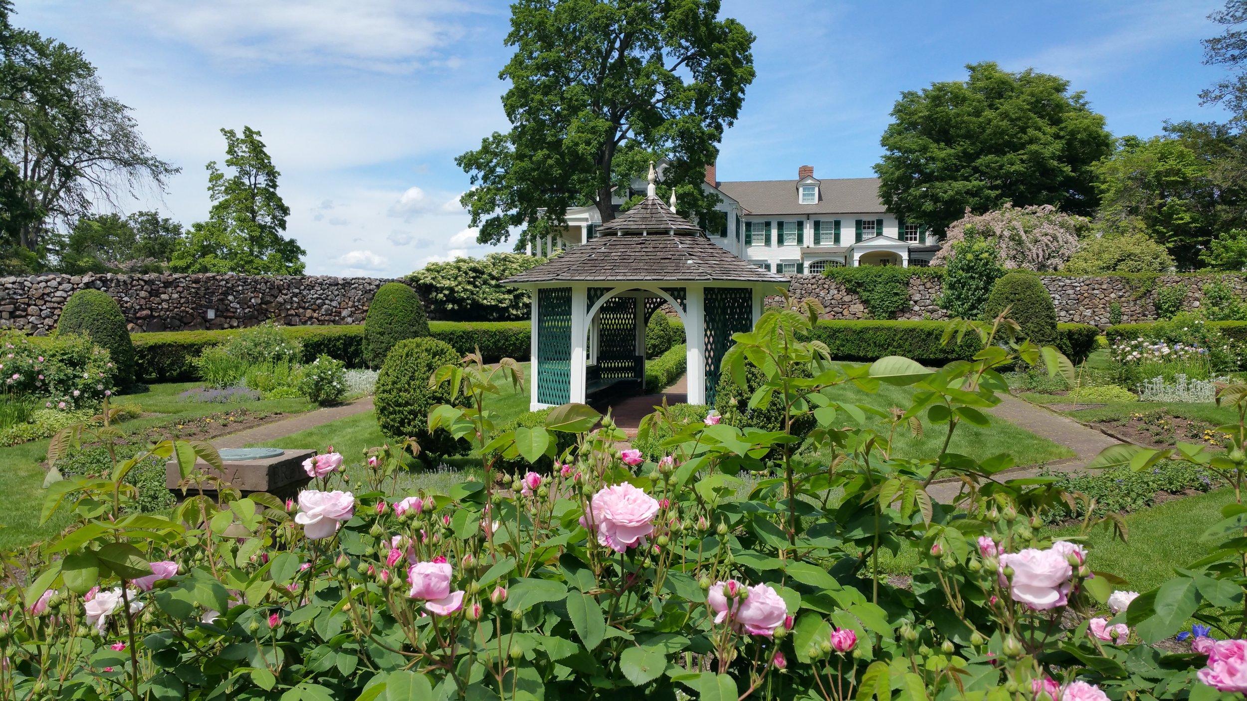 Sunken Garden at    Hill-Stead Museum