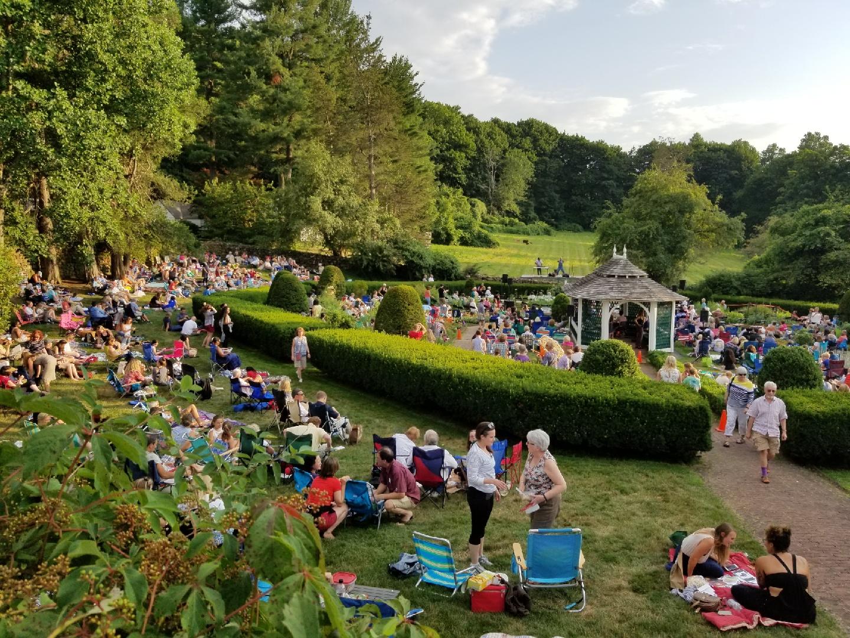 Sunken Garden Poetry Festival at    Hill-Stead Museum
