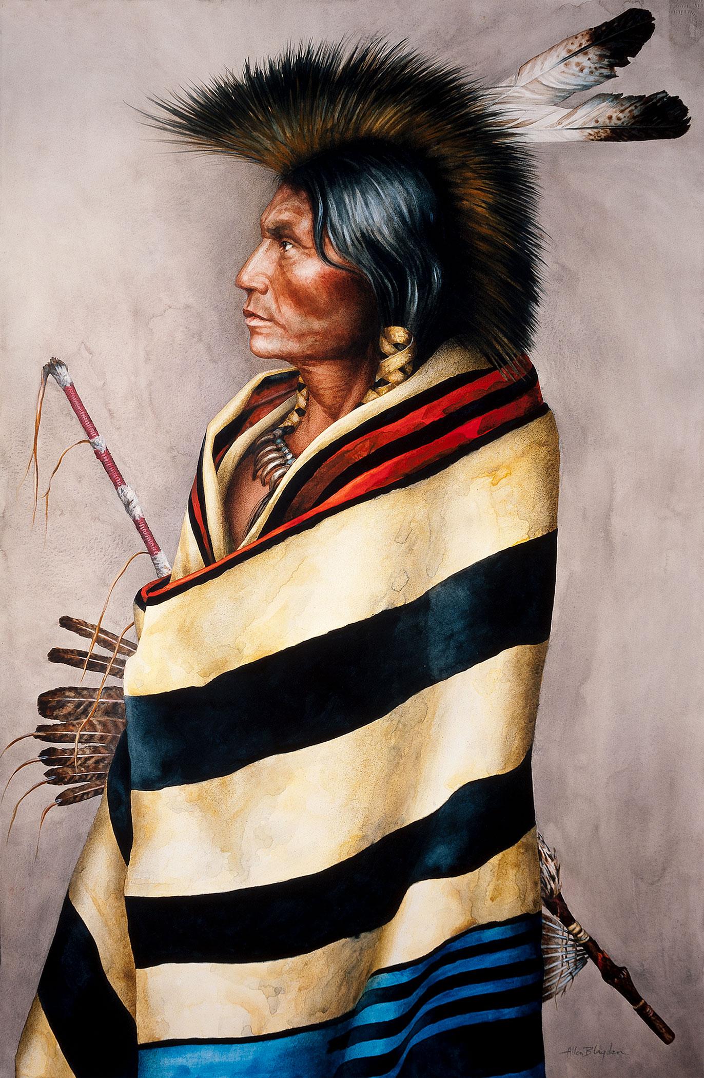 ALLEN BLAGDEN<strong> Chief's Blanket</strong>
