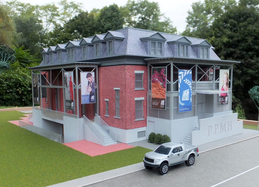 Pine Plains Memorial Hall - reimagined by    Larson Architecture Works, PLLC