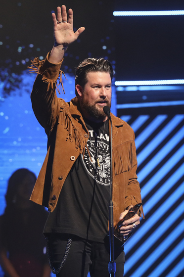 Williams is named 2018's Artist of the Year at the GMA Dove Awards; photo by Jamie Gilliam