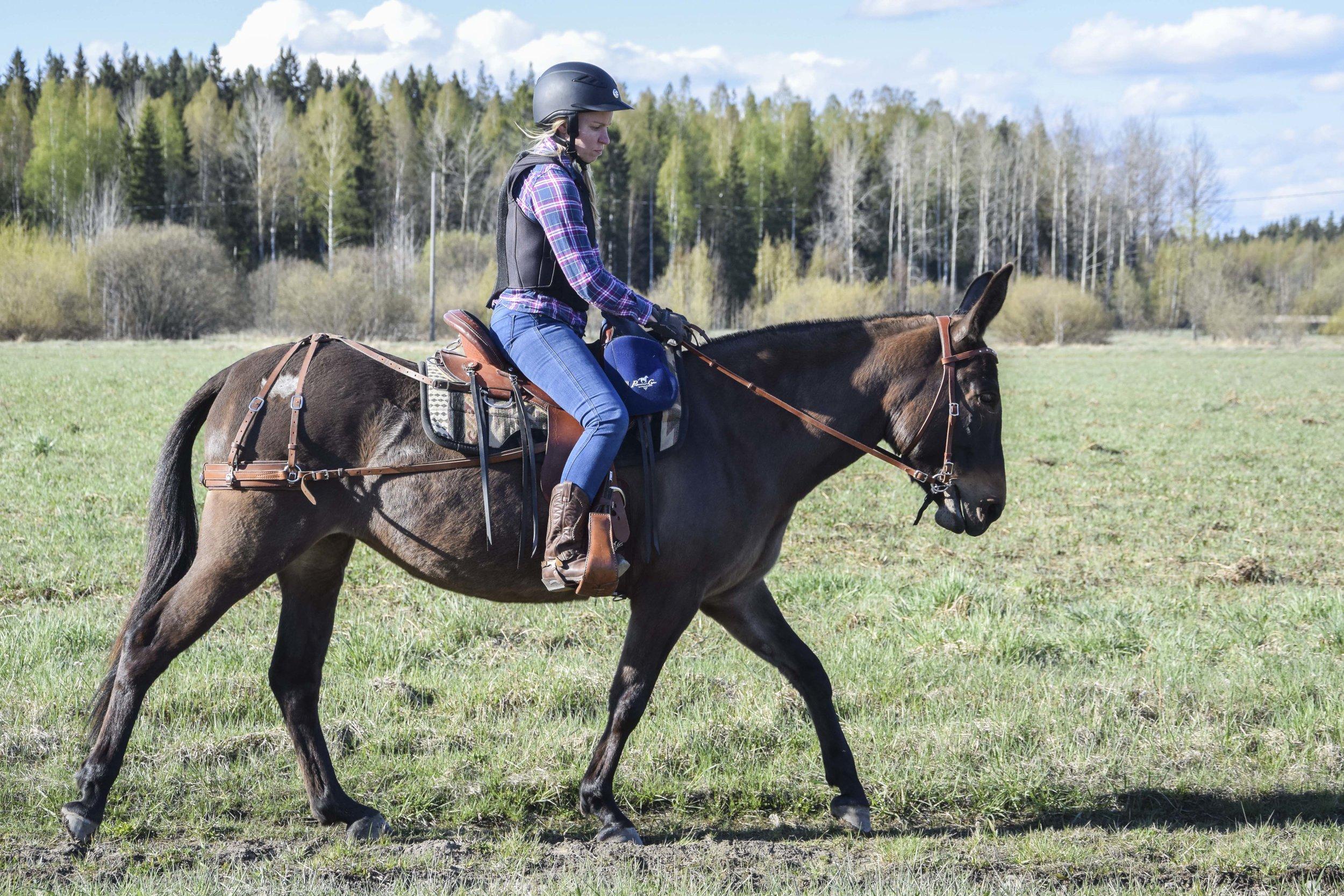Kaisa & Muuli. Photo by Emmi Jormanainen