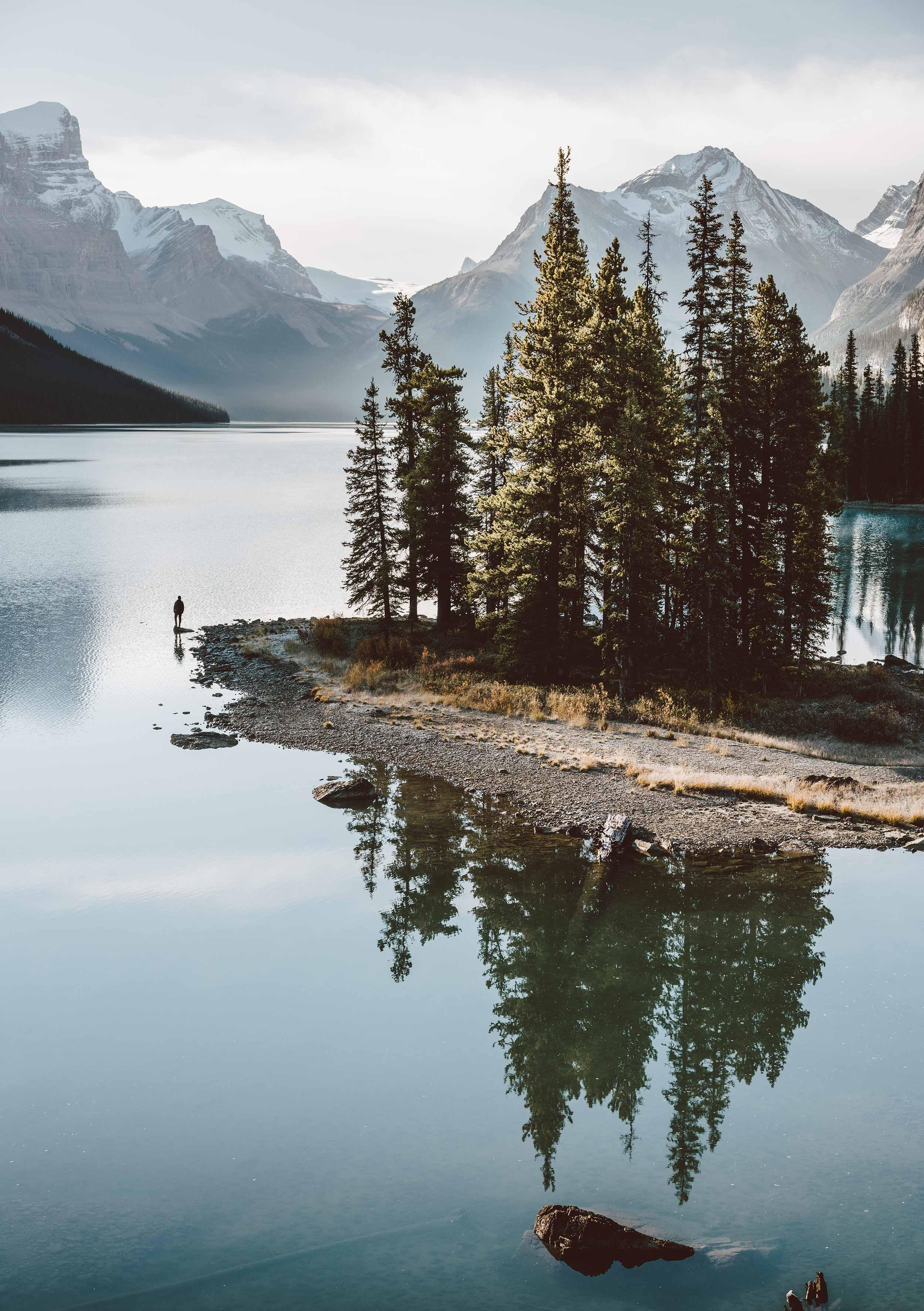 Canadian Dreams (Spirit Island, Jasper, Canada)