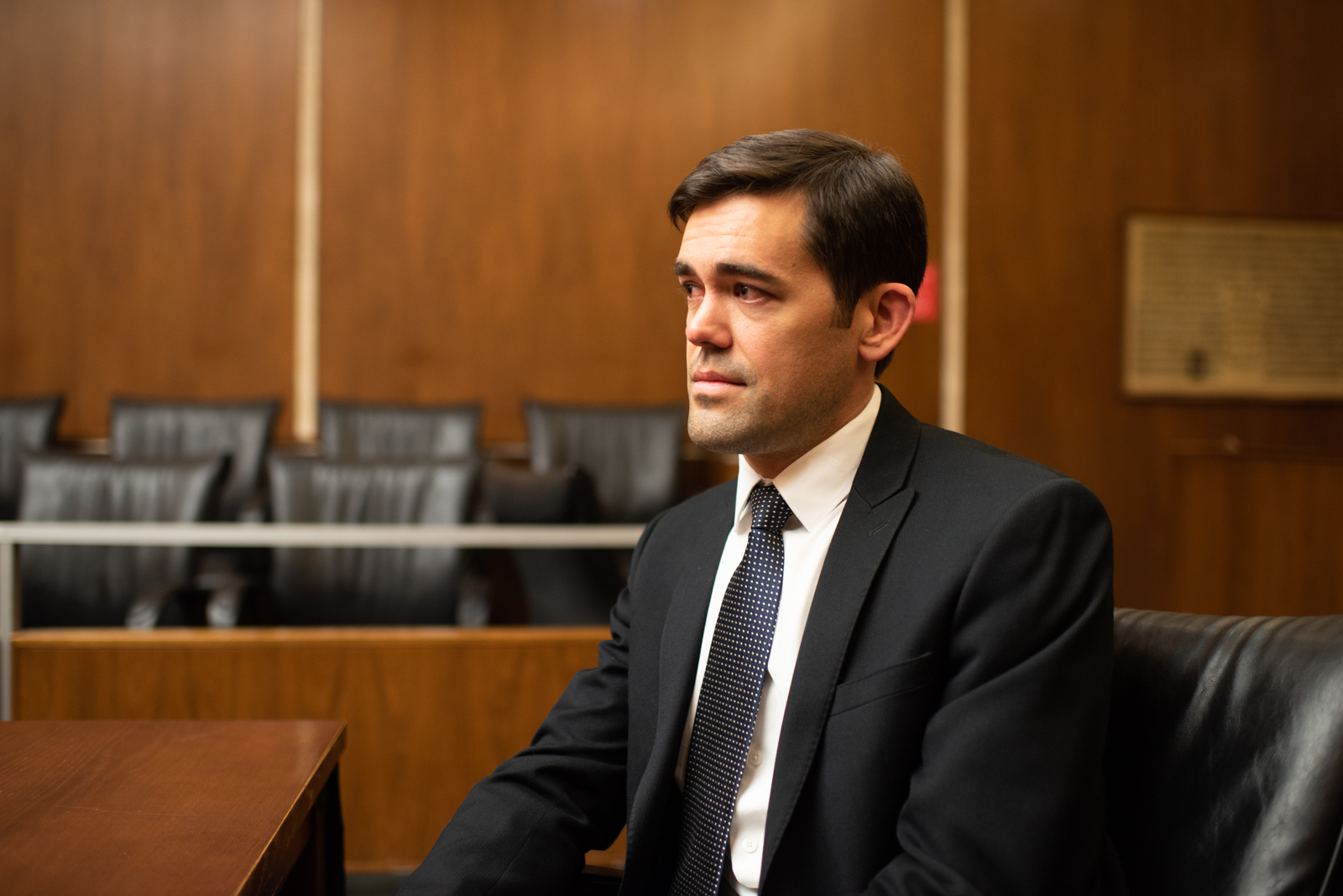 """Ross  As a prosecutor, Ross feels that the """"weight of human misery"""" he witnesses day in and day out is often too much to bear."""