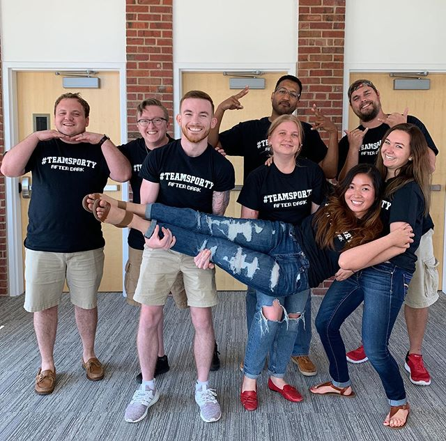 "One of the keys to our in-depth onboarding program is that it prepares new Spreetailers to tackle their roles with the support of meaningful relationships they've begun to build across the company. For ""Team Sporty,"" that onboarding experience was truly the start of something special — so special that they made custom t-shirts to mark their one-year anniversaries today. Swipe ➡️ to see this group on their very first day!"