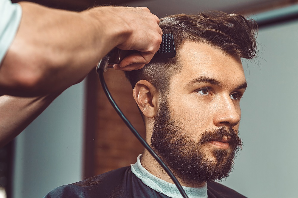 Haircut $30 - Classic men's haircuts, textured, pomps, and fades, always finished with a straight razor and a hot towel.