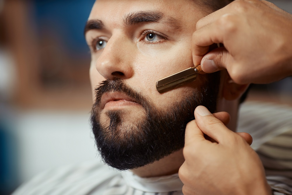 Beard Reshape & Cutthroat $25 - Reshape with hot towel and cutthroat shave