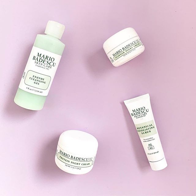 There are so many of our influencers who swear by Mario Badescu products... are you one of them? 💜💚💜 #pickfair