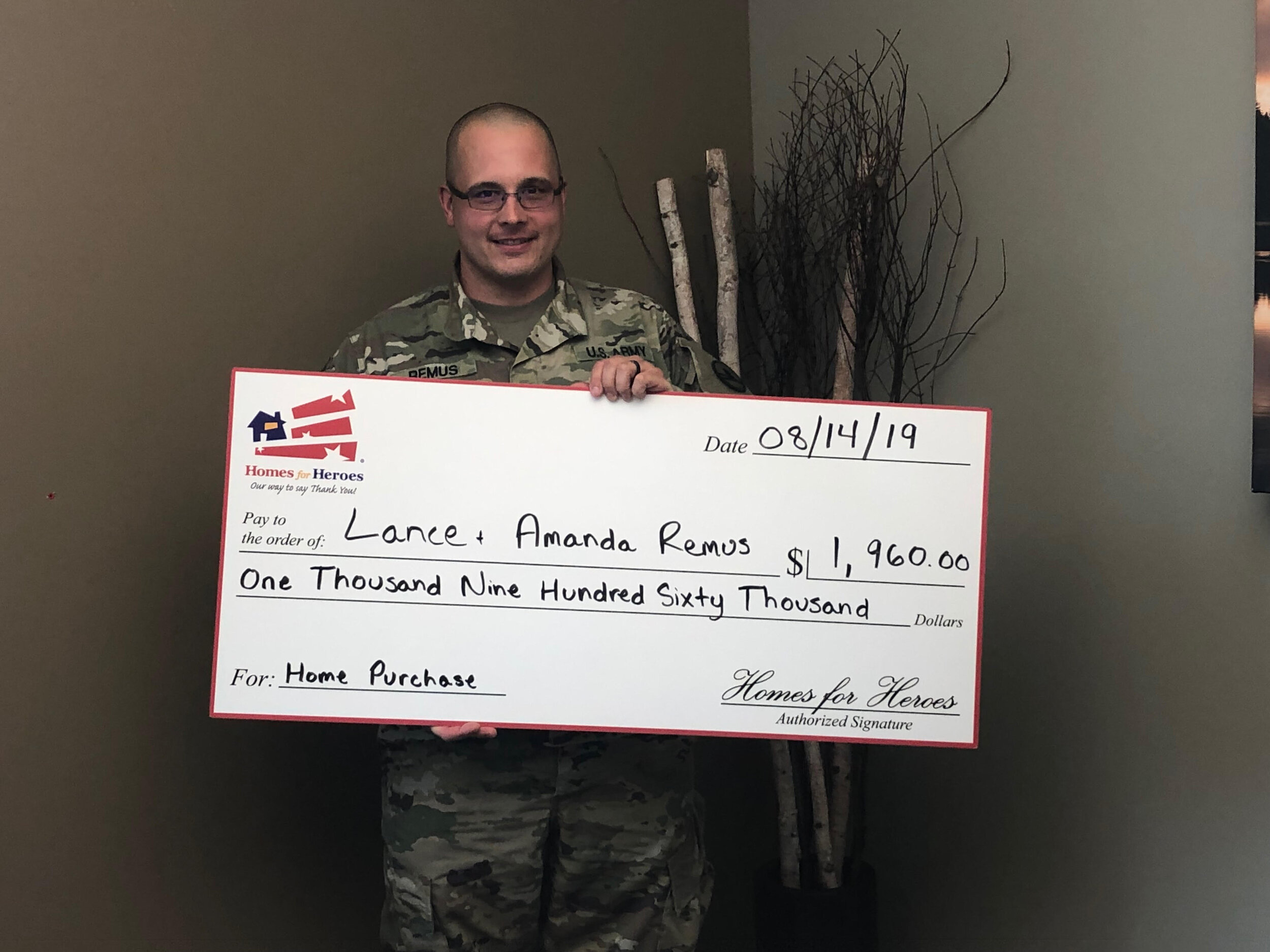 Heroes deserve rewards - It's important to me to serve others who have served our country. VA Loans are a great way for veterans to save money, and I have years of experience working with active duty and retired military members. In effort to extend savings to other types of public servants such as Police, Fire, EMTs, Healthcare Professionals, and Teachers, I offer a program called Homes for Heroes that allows me to offer you a rebate at closing! Lance saved $1,960 using Homes for Heroes to purchase his home!