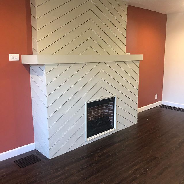 This flip is finally hitting the market!! Super excited about this one. LOOK AT THIS KITCHEN! 😍 also this fireplace turned out amazing! #makemeyourrealtor #flippingindy #realtor #home