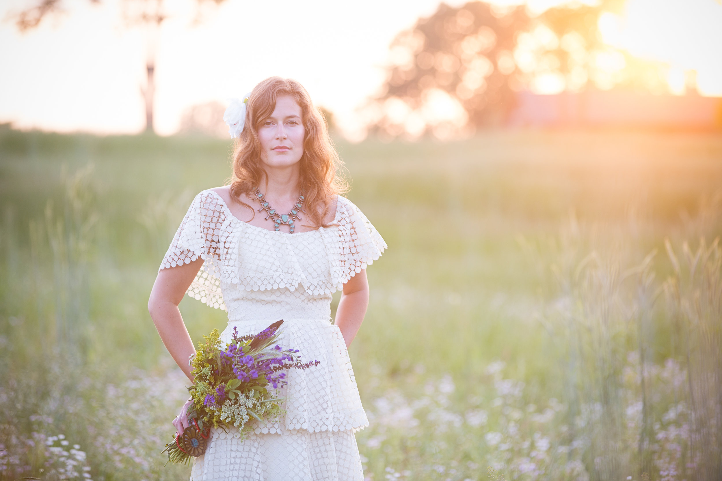 "Creative Direction & Styling: Stephanie Lindsay for ""Storyboard: Prairie Girl"" in LOUISVILLE BRIDE Spring/Summer 2013. Photography: Jessie Kriech Higdon."