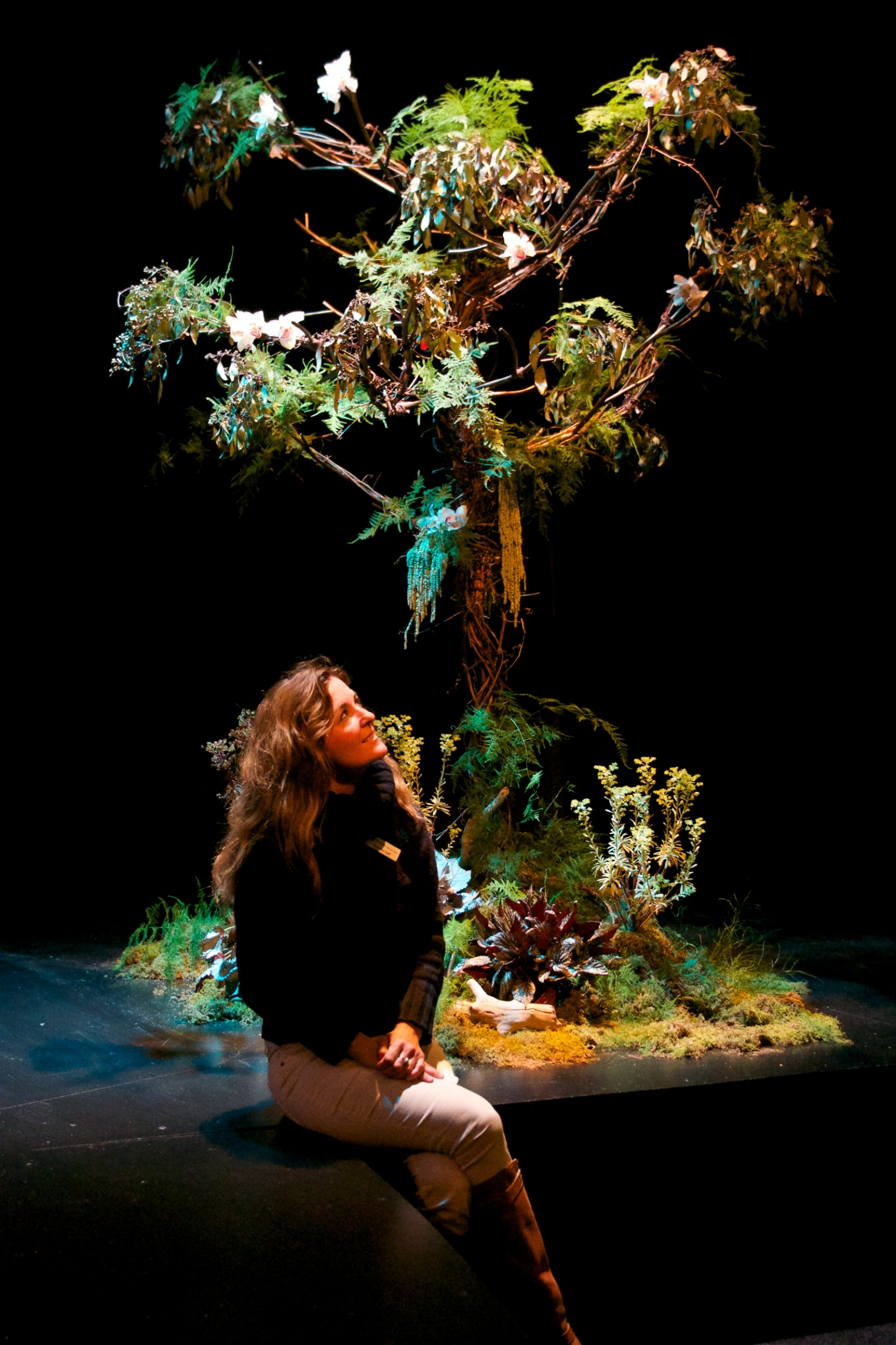"""Tree of Life"" by Stephanie Lindsay; Photo: John Nation; Festival of Faiths 2014 ""Sacred Earth, Sacred Self"" by Center for Interfaith Relations."
