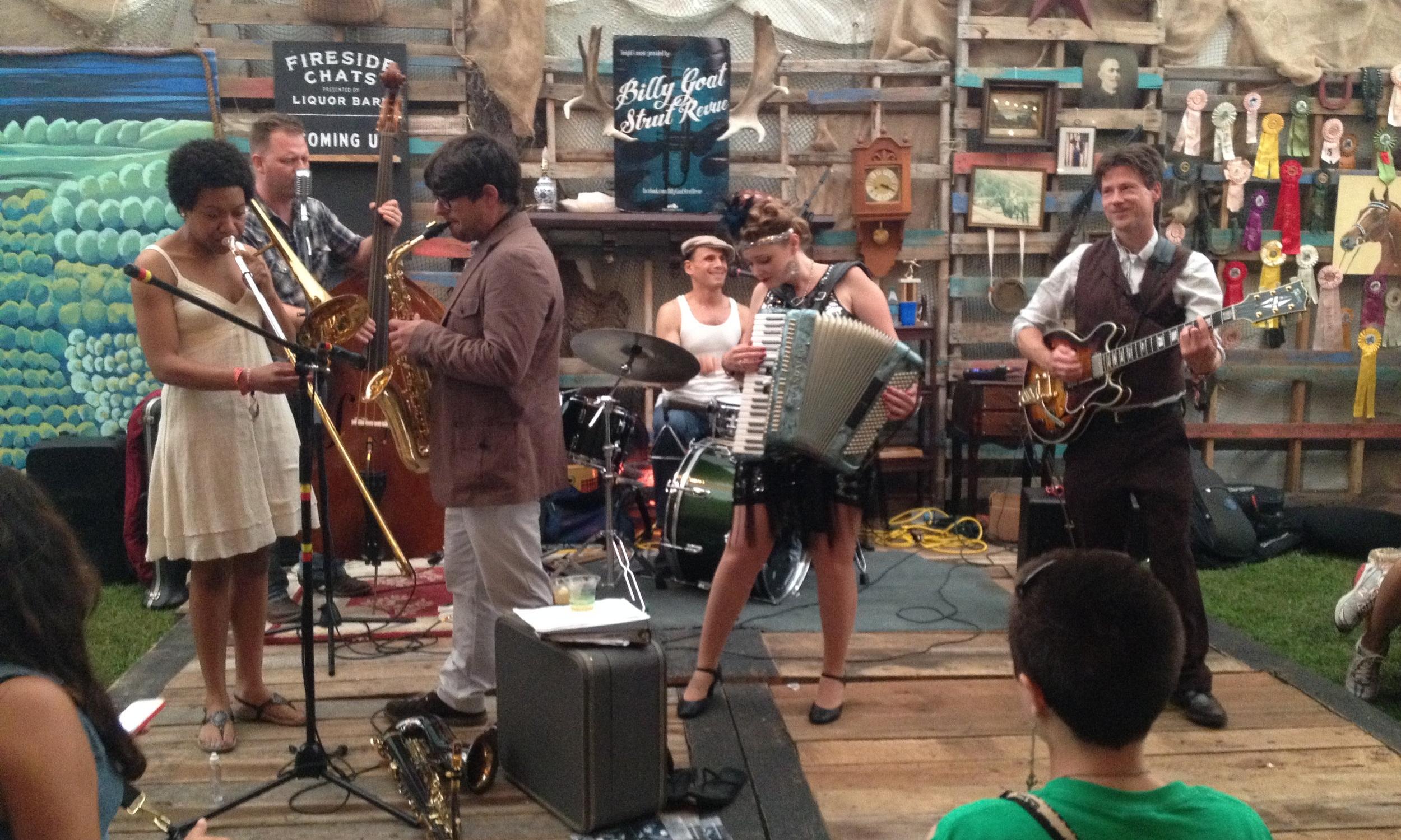 Band: Billy Goat Strut Revue.