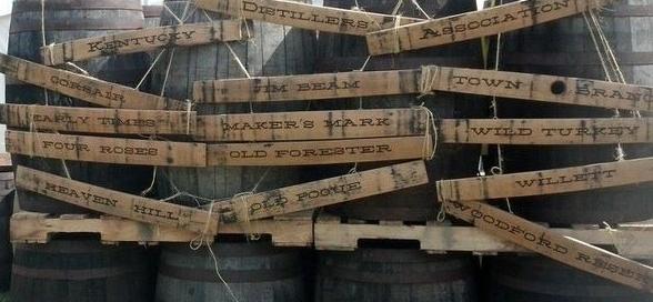 Signs: Bourbon Barrel Rehab.