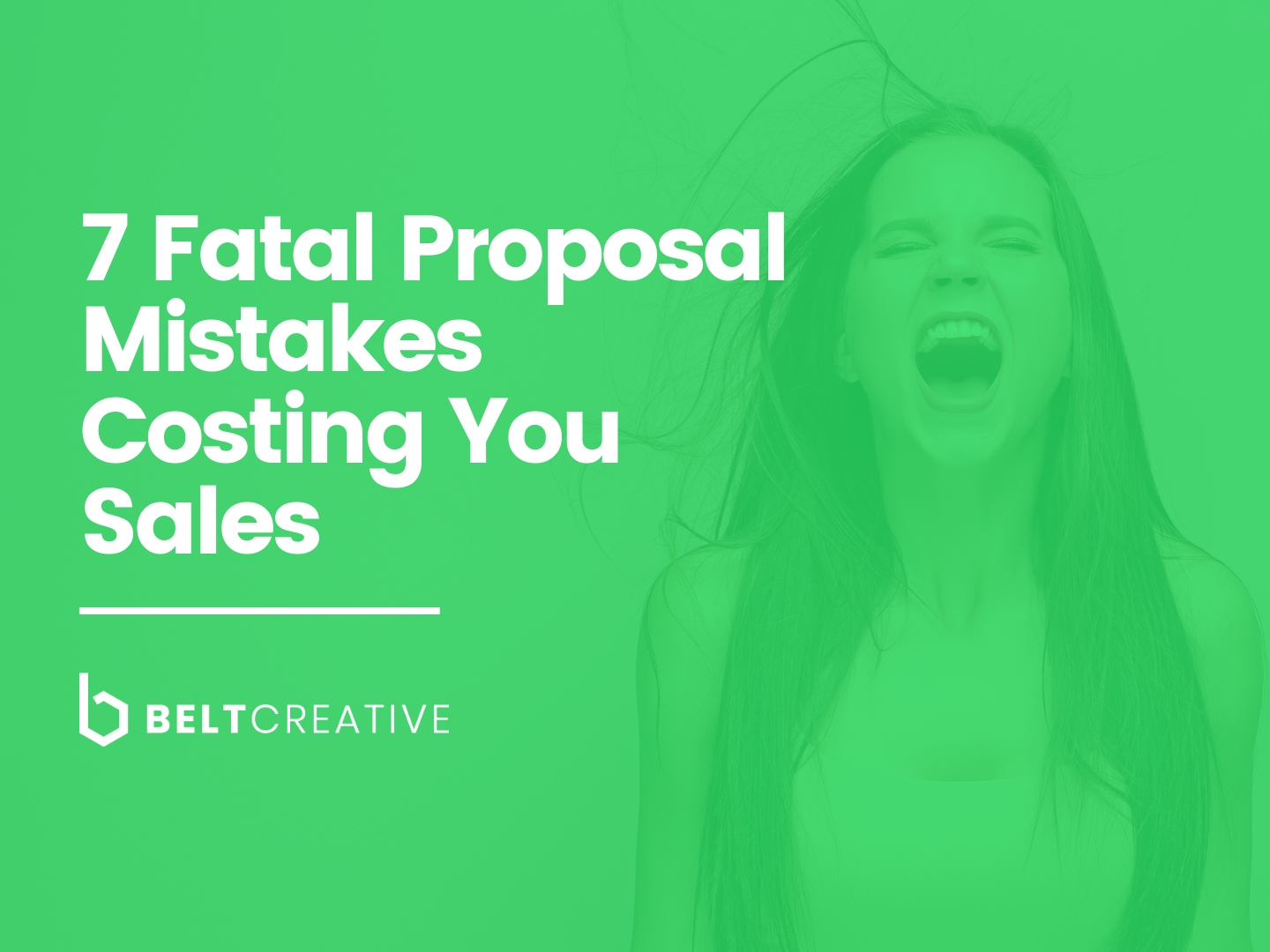 Is your proposal making one of these 7 Fatal Proposal Mistakes? - Most proposals fail for the same reasons, and that's why we made this free ebook to teach you how to design trust and credibility into your proposal.