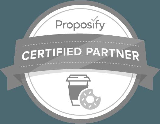 Proposify Certified Partner Belt Creative