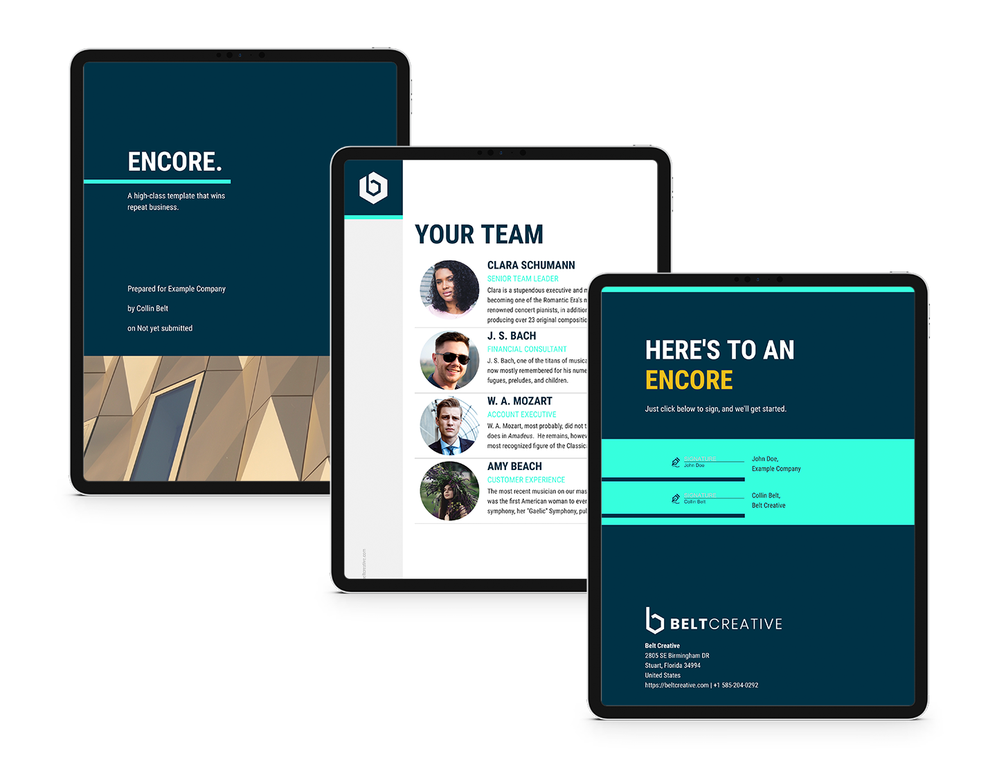 High-Converting Agency and Business Proposify Template