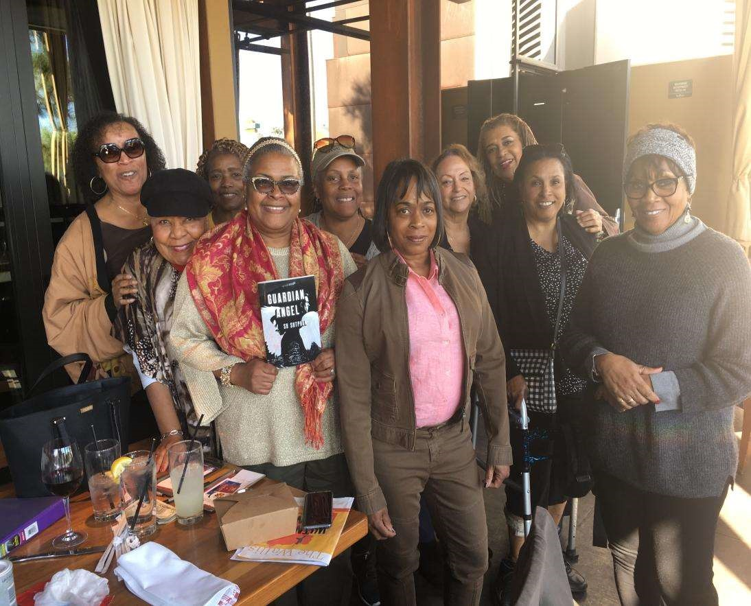 BFF Book Club near Los Angeles, California post Guardian Angel discussion