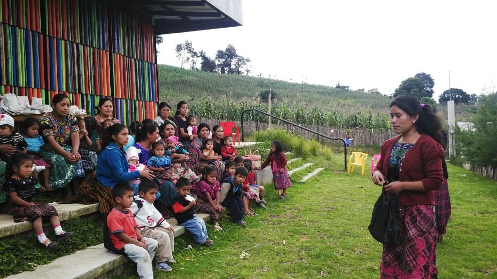 PAVA's comuniteca in Paxixil.
