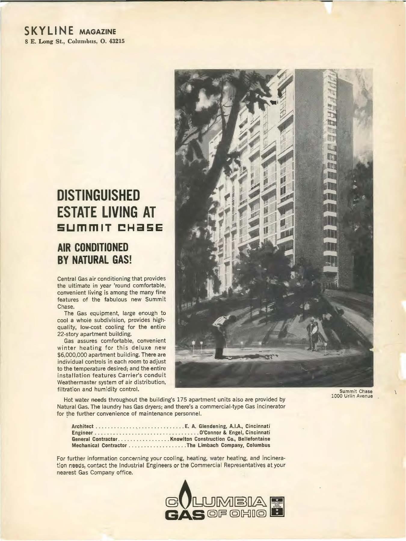 History Summit Chase Condominiums In Grandview Heights Oh