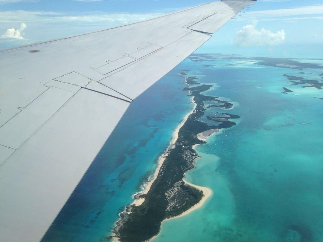 It's a bird, it's a plane: we're in Exumas, Bahamas!