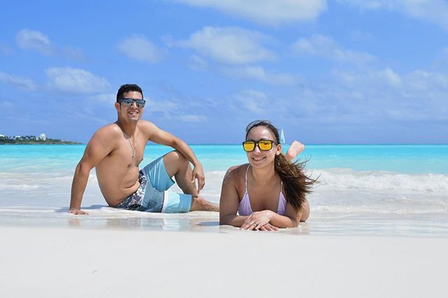 Thinking of the Bahamas. Not all the Bahamas was damaged, they depend on our visits and tourism to survive.  They have the most beautiful islands. . . . . #bahamas #exumabahamas #exuma #honeymooning #tourism #startedoutwithrooster #vacation #turquoisewaters #beach #sea #isaland #vacay #husbandandwife #husbandandwifeadventures #islandsofadventure #sandals #emeraldbay #sandalsemeraldbay #sandalsbahamas #sunsandandsea #beachlife #greatexuma #husband  📷 @izel_itztli