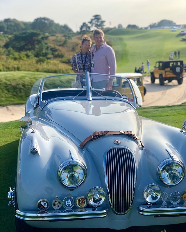 Our favorite cars from yesterday's #carshow @thebridge.hamptons with fabulous friends . . . #thebridge #thebridge2019 #carshow2019 #hamptons #classiccarshow
